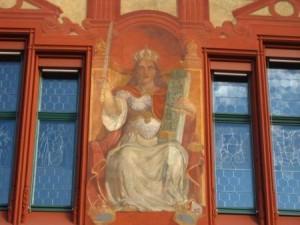 Basel Rathaus Bildgalerie Berner Garten Philosoph